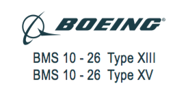 BOEING LICENCE BMS 10 26 TYPE XIII TYPE XV
