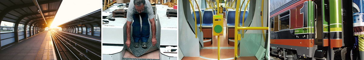 Adhetec self adhesive flooring for trains