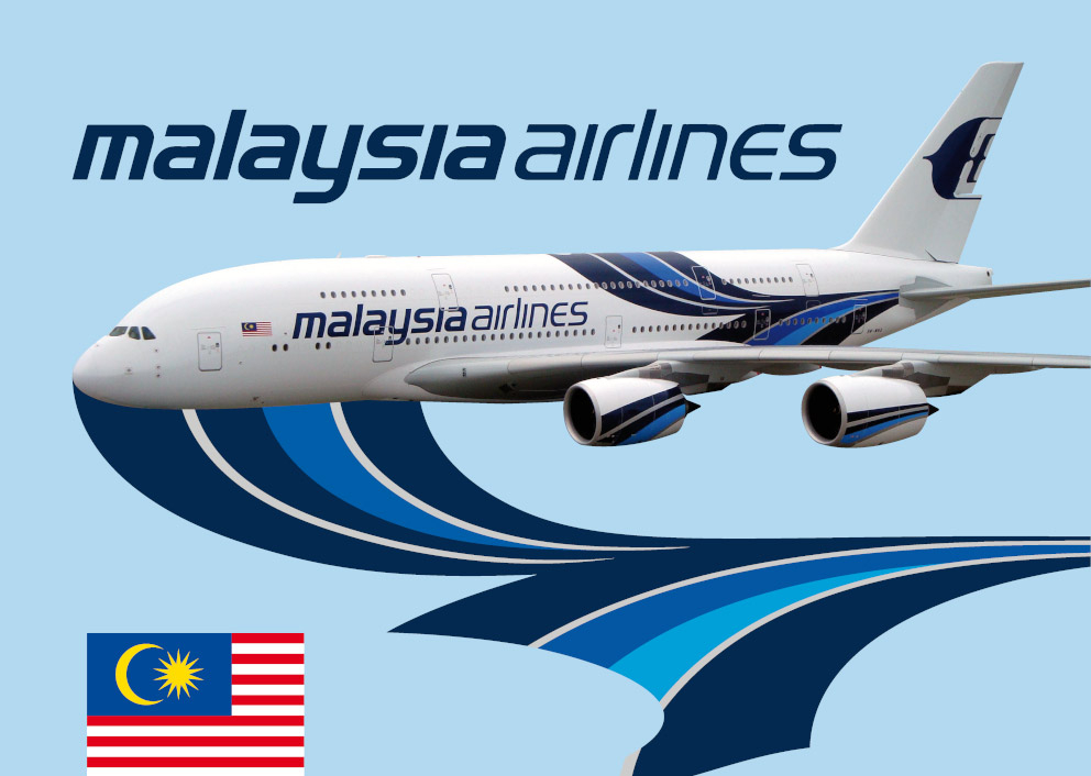 ADHECAL® 13880 exterior decoration aircraft Malaysia airlines Adhetec