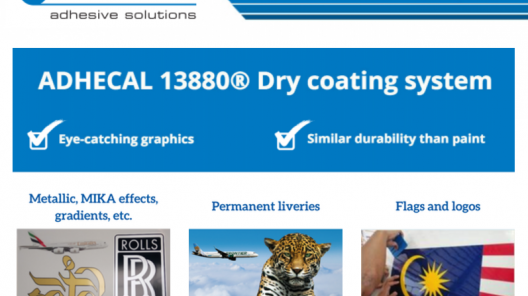 adhecal dry coating system