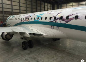 Air Dolomiti exterior decorative film for Airlines