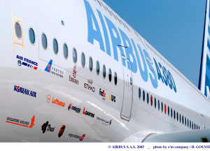 Airbus exterior markings